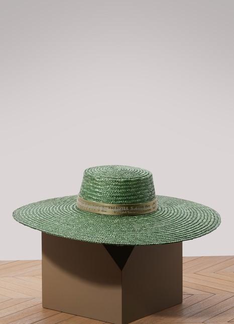 Off WhiteStraw hat