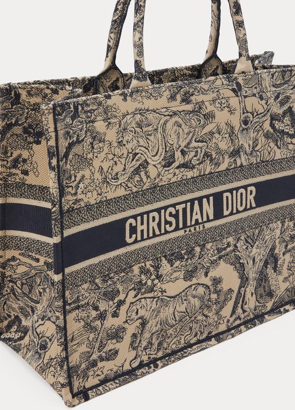 899833b983eb ... Dior Dior Book Tote Canvas in toile de Jouy ...