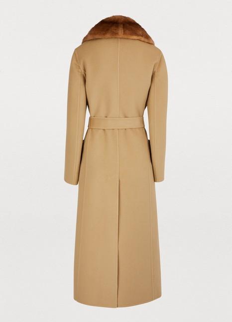 FENDIFur collar coat