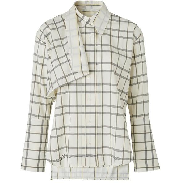 PALMER HARDINGAltered cotton shirt