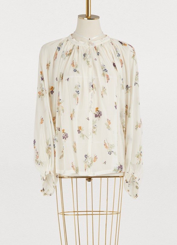 Forte_Forte Highlands Flowers shirt