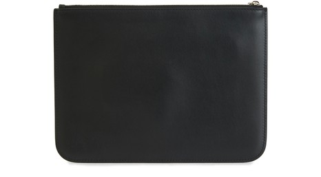 BALENCIAGASignature Everyday M leather clutch bag