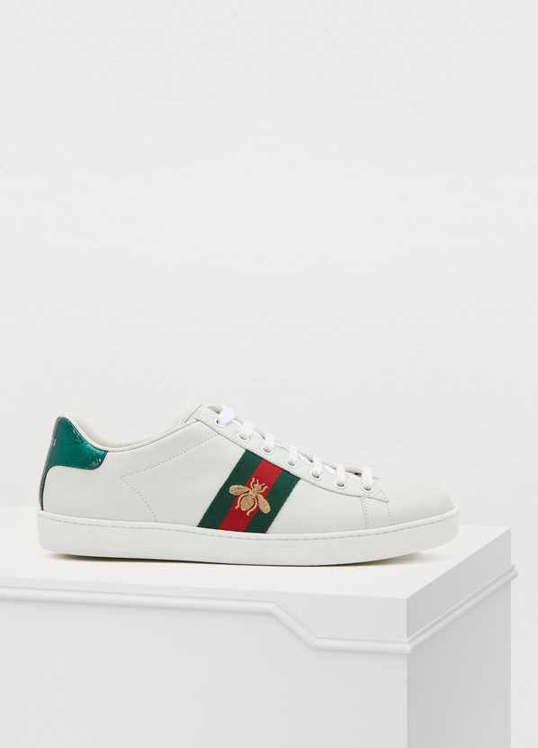 separation shoes cdf60 992a4 Gucci Baskets basses Ace brodées Gucci Baskets basses Ace brodées ...