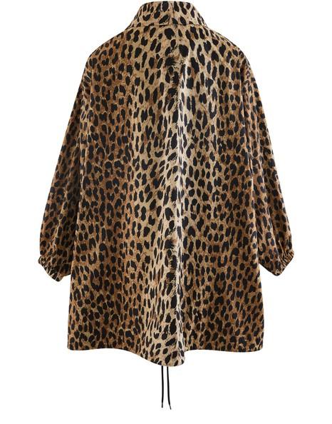 BALENCIAGACocoon Leopard jacket