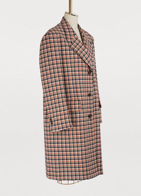 CALVIN KLEINOversized virgin wool coat