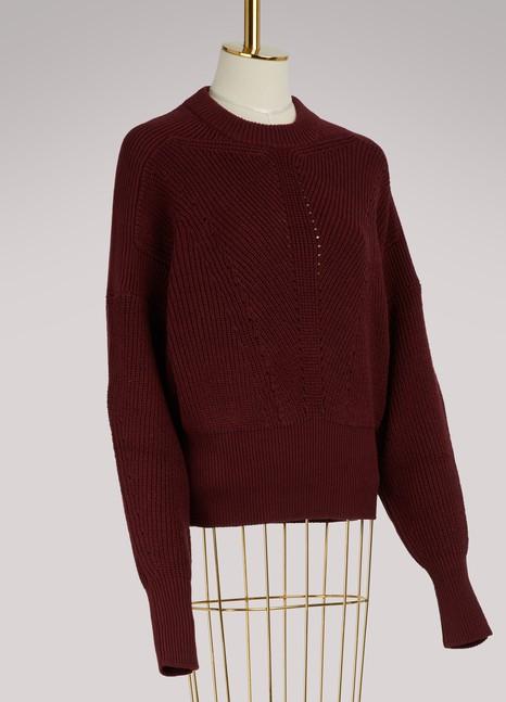 Isabel MarantPull Lonnyl en coton et laine