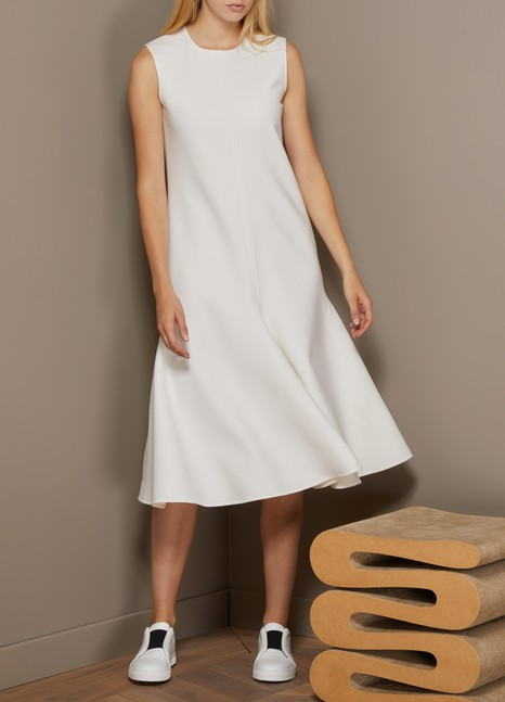 Maison Rabih Kayrouz Mid-Length Woolen Dress