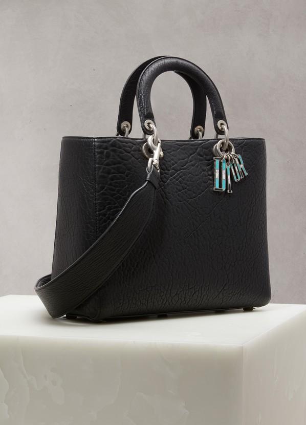 3c9cc52a01f94 ... Dior Lady Dior large bag ...