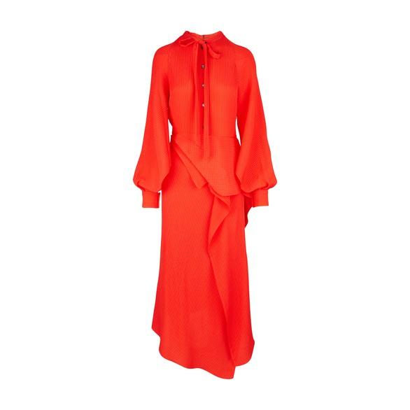ROLAND MOURETBocana silk dress