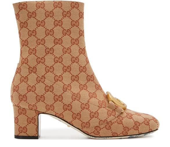 GUCCIOriginal GG ankle boots