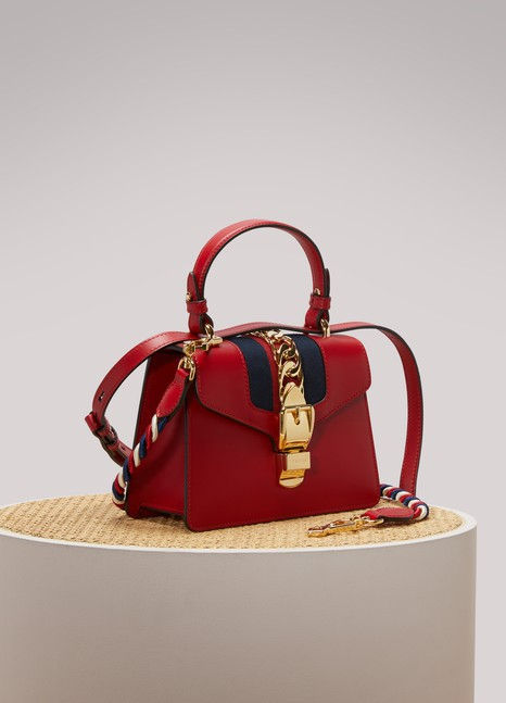 GucciSylvie Leather Mini Bag