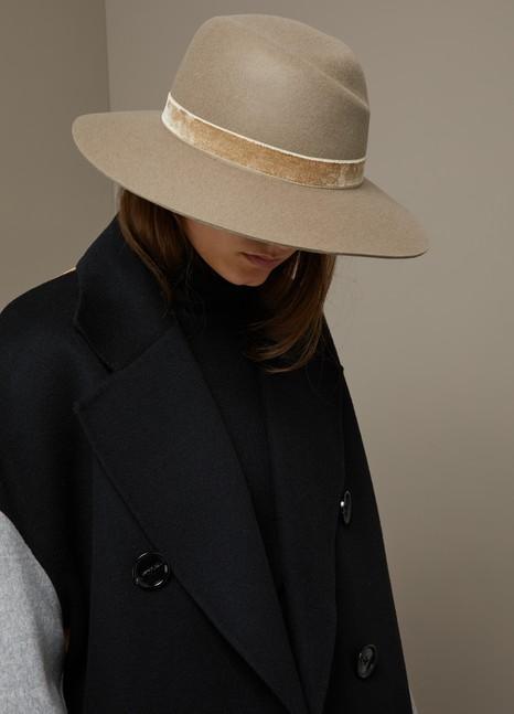 Rag & BoneZoe wool fedora hat