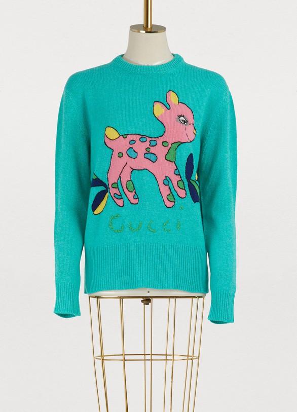 GucciBambi wool sweater