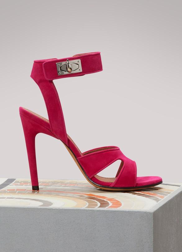 b0fc87f5e68c Givenchy. Givenchy Shark Lock sandals