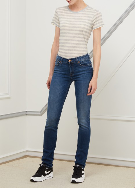 7 For All Mankind Mid-rised Roxanne jeans