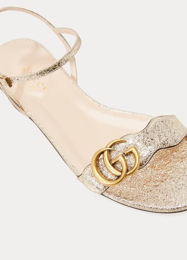 8262c42814395e Gucci GG Marmont sandals ...