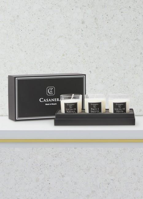 CasaneraPace e salute 3 candles box
