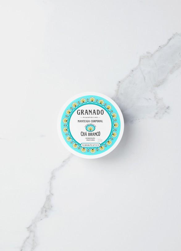 GranadoBeurre corporel thé blanc 200 g