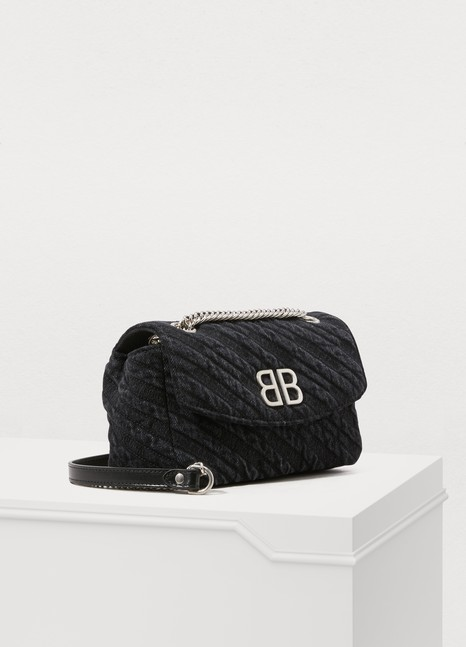 Balenciaga BB Destroyed shoulder bag