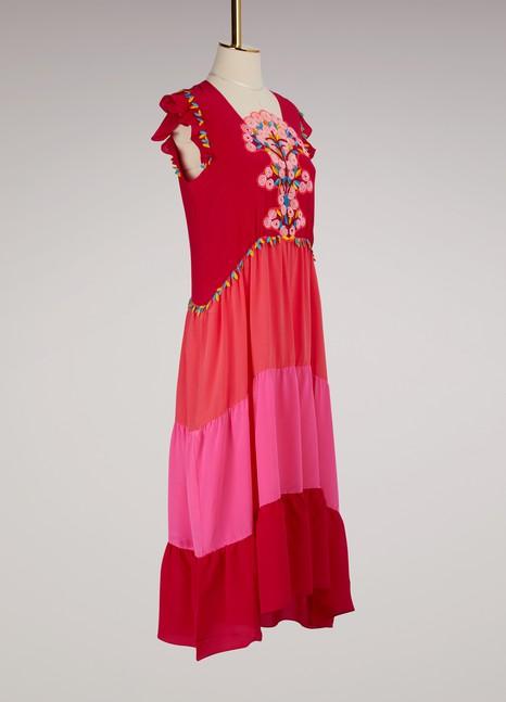 Peter PilottoSilk Midi Dress