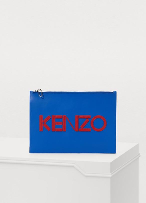 e71580fdfcf Women's Logo clutch | Kenzo | 24S | 24S