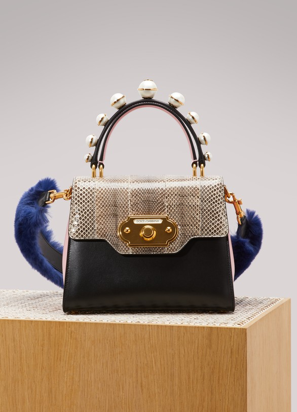 Dolce & GabbanaSac porté épaule Welcome