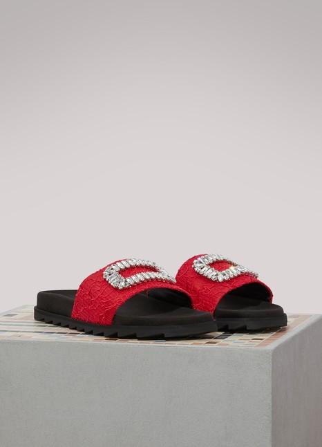 Roger VivierSlidy Viv sandals