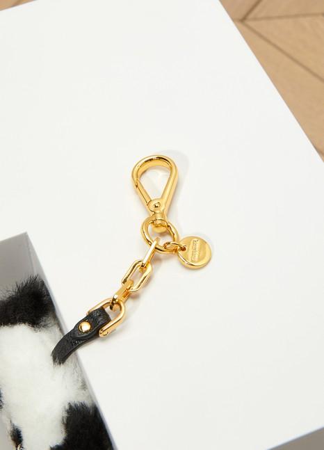 Miu MiuPanda Key Ring with Mirror