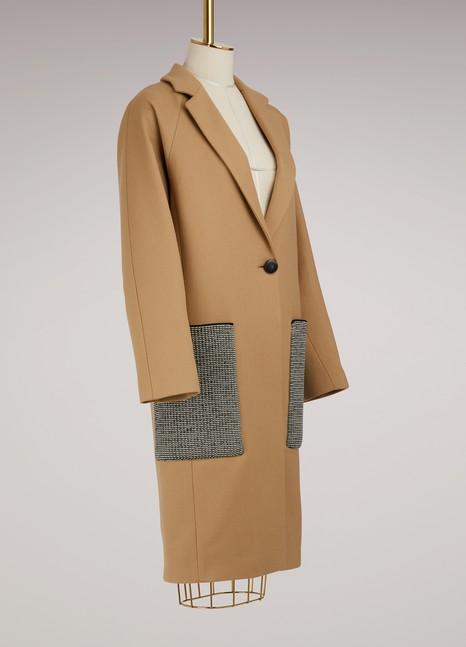PROENZA SCHOULERManteau en laine à poches oversize