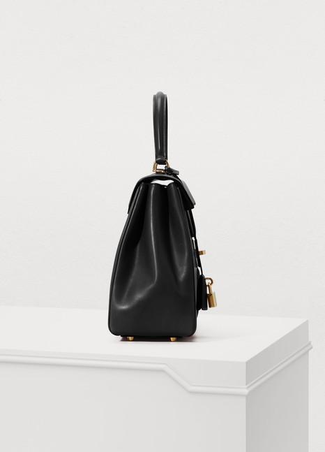 defa2241b414 Women s 16 medium satiny calfskin leather bag