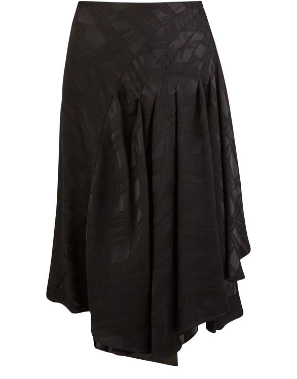 KOCHÉLong frilled skirt