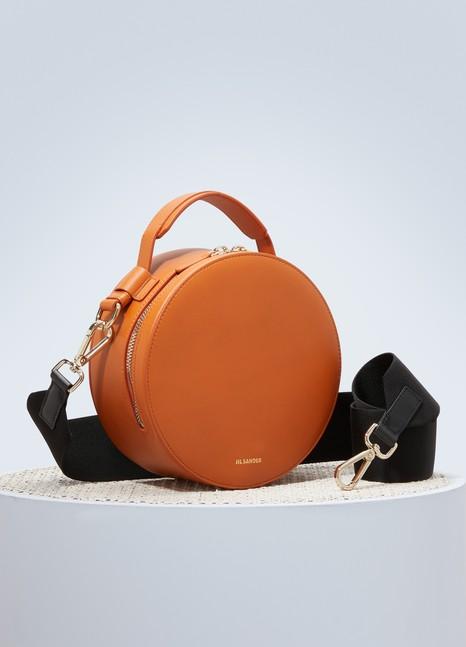 Jil SanderDrum leather bag
