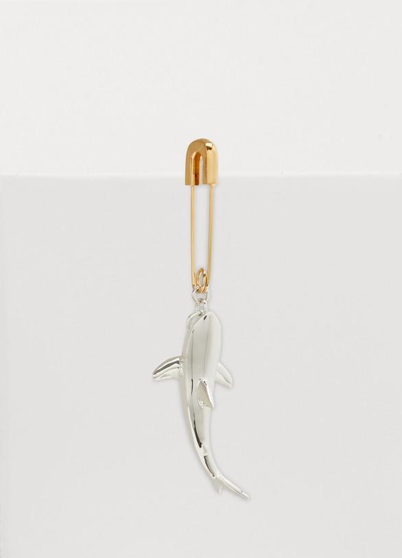 AMBUSHMono boucle d'oreille Shark