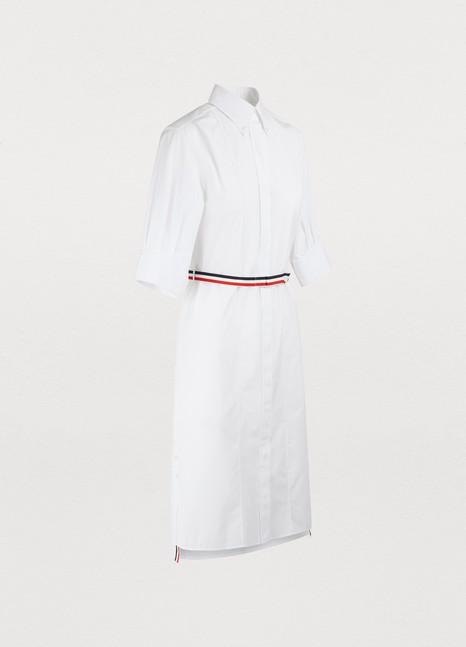 THOM BROWNECotton shirt dress