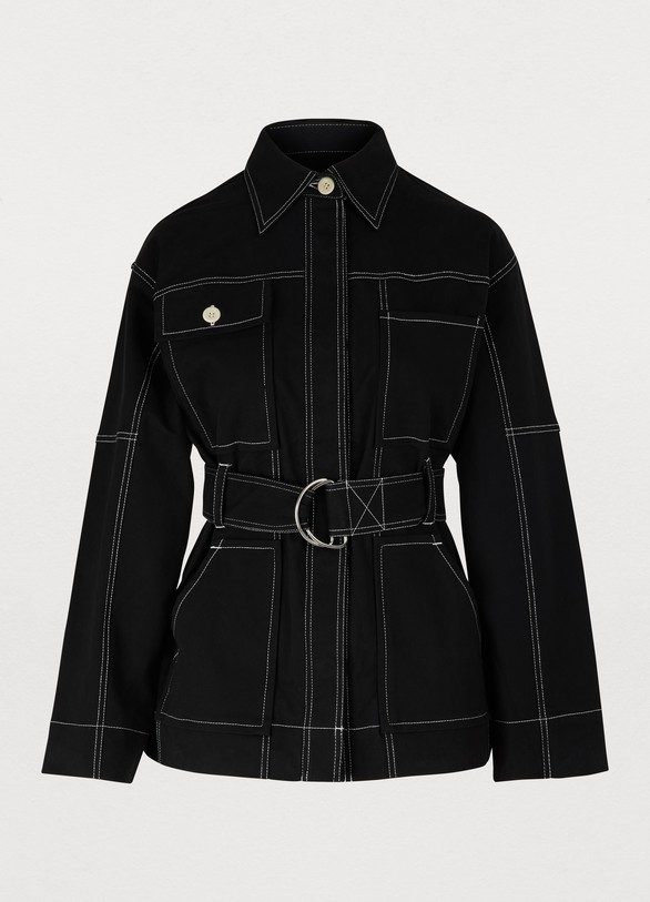 PROENZA SCHOULERHeavy cotton belted jacket
