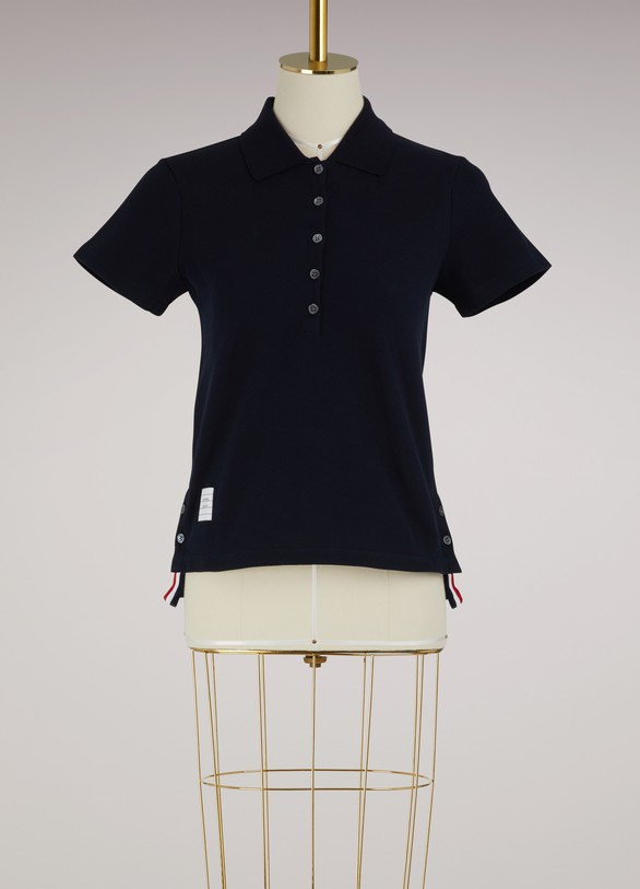 Thom Browne Polo shirt with back stripe