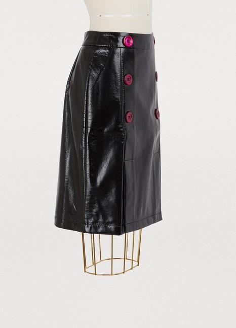 Jour/NéVinyl skirt