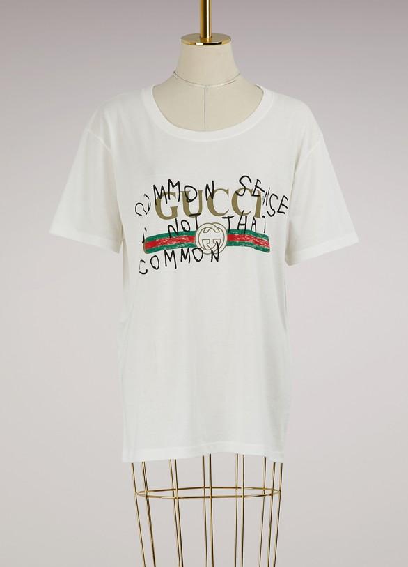 GucciGucci Web Common Sense T-shirt