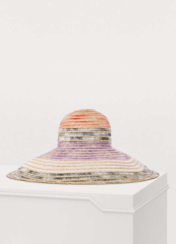 4aedfd06f15ceb Women's Multicolored straw hat | MISSONI | 24S | 24S