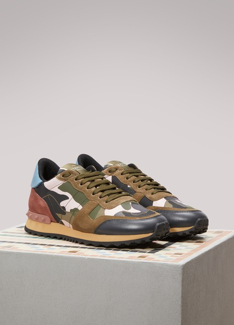 Valentino Camou Ruckrunner Sneakers Buy Cheap Affordable Cheap Price For Sale Release Dates Cheap Price Ebay Online OPy79fr