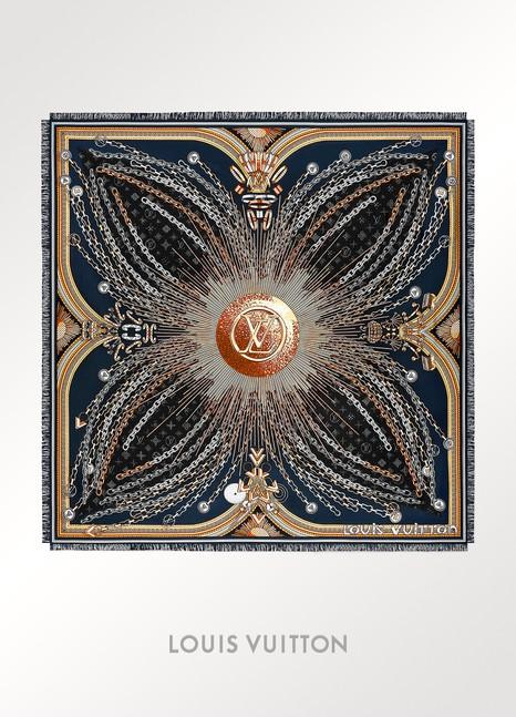 Louis VuittonCarré géant Vendôme