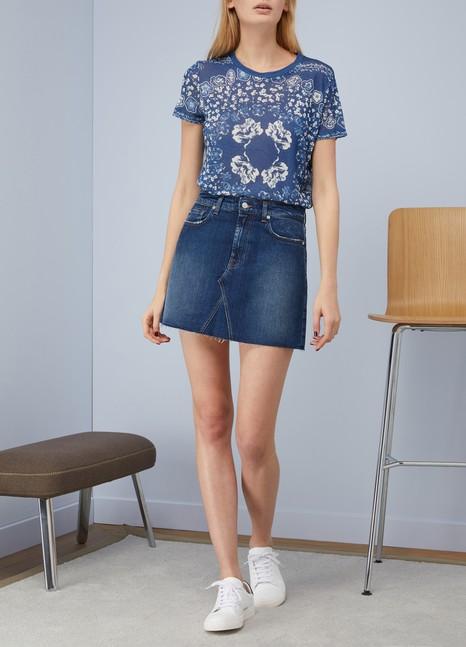 Majestic FilaturesT-shirt imprimé floral
