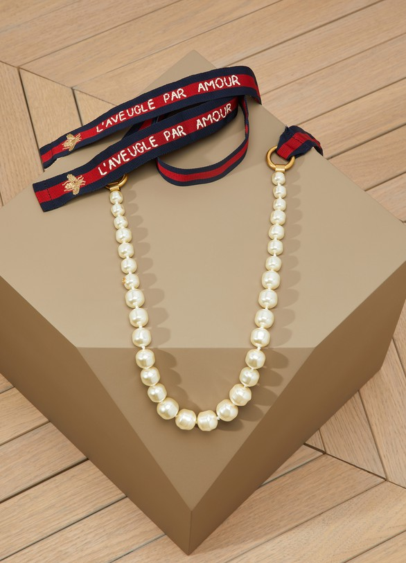 Gucci Pearl Necklace