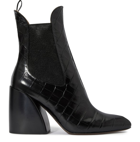 CHLOEWave ankle boots
