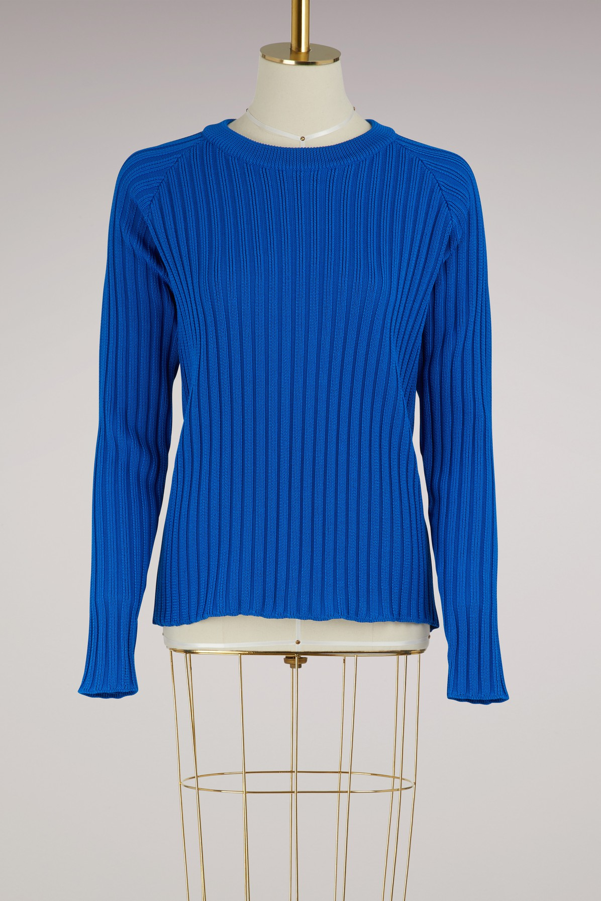 AMI | Ribbed sweater | Goxip