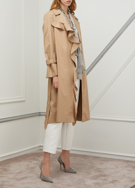Stella Stella Trench Mccartney À Volants Mccartney pBqfZ4x4