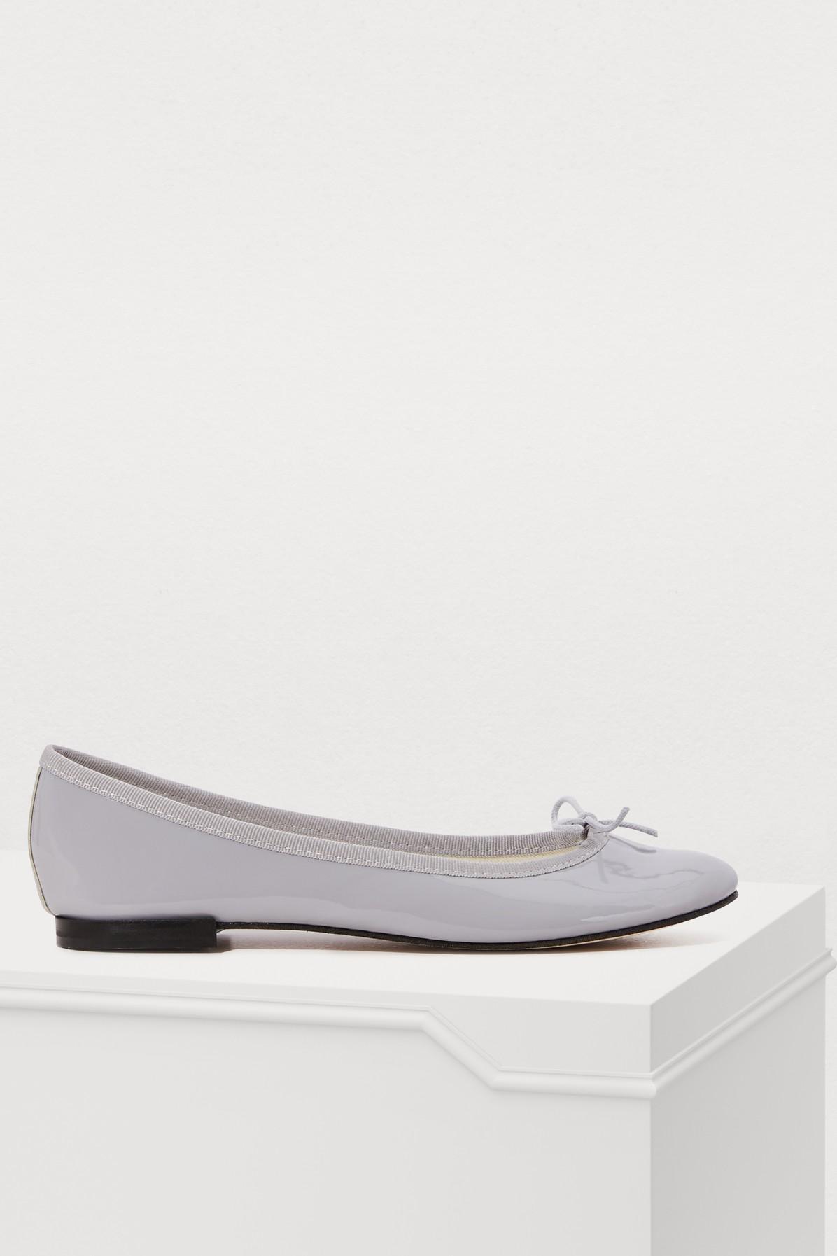 REPETTO | Cinderella patent leather ballet pumps | Goxip