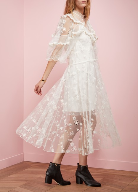 Chloé Long Tulle Dress