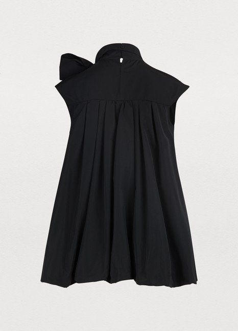 VALENTINO Micro-faille sleeveless top