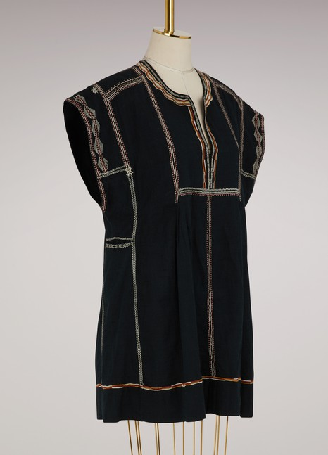 Isabel Marant Etoile Cotton Belissa dress